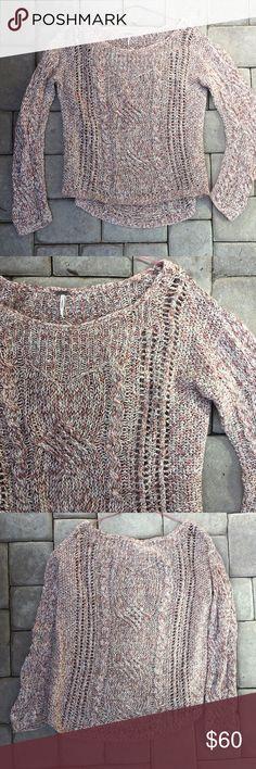 Free People Sweater Size M Free People Sweater Size M Free People Sweaters Crew & Scoop Necks