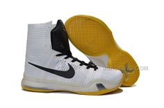 buy popular 078a0 2a4d8 Buy Nike Mens Kobe X 10 Elite High Top PE White Black Yellow Online from  Reliable Nike Mens Kobe X 10 Elite High Top PE White Black Yellow Online  suppliers.