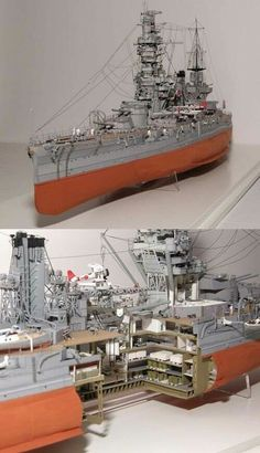 Model Ship Building, Boat Building, Scale Model Ships, Scale Models, Model Warships, Imperial Japanese Navy, Military Modelling, Military Diorama, Navy Ships