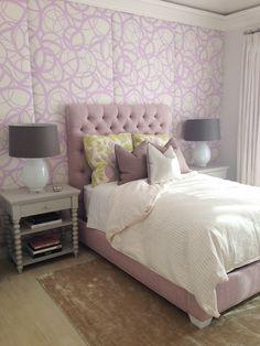 girls bedroom + purple bedroom + teen bedroom
