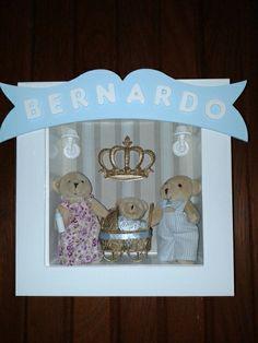Porta Maternidade Família Urso.