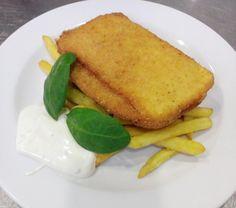 Denné menu Vranov | Vyprážaný pastiersky syr, hranolky s tatárskou omáčkou #DenneMenu #Restauracia #ObedoveMenu #ObedneMenu