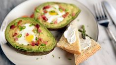 Bake Eggs in Avocados For the Ultimate Breakfast Trick: When you think of breakfast, what's the first thing that comes to mind?