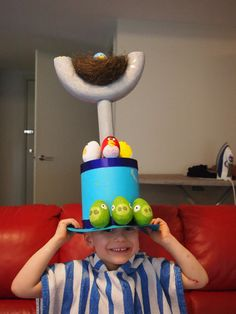 Just for fun - Easter Hat – Sewing Projects | BurdaStyle.com