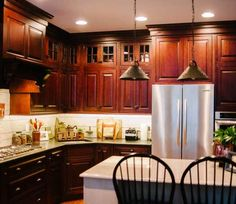 Kitchen remodel in Coventry RI Deisgned by Coventry Lumber in