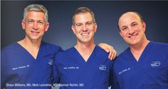 Dr. Leondires, Dr. Richlin & Dr. Williams voted TOP DOCS in Fairfield County by Moffly Media