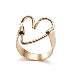 Apriati ring Heart Bracelet, Bracelets, Creative Art, Design Art, Jewelry Box, Jewerly, Cool Things To Buy, Rings, Gold