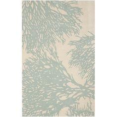 Safavieh Handmade Bella Beige/ Blue Wool Rug (4' x 6') | Overstock™ Shopping - Great Deals on Safavieh 3x5 - 4x6 Rugs