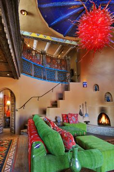 I love Santa Fe - Seriously love it. This is the Inn of the 5 Graces. xoxoxoxoxxo