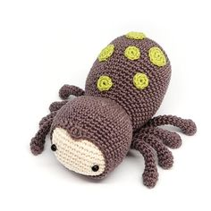 Spider Crochet pattern by RoKiKi - make your own with this pattern on LoveCrochet!