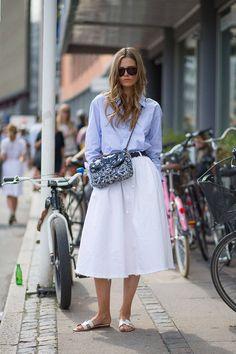 Street Style from Copenhagen, Denmark - Copenhagen Fashion Week Spring 2015 Street Style - Harper's BAZAAR