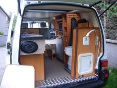 146 best van conversions images house on wheels mobile home vans rh pinterest com VW Bus Interior Ideas Gotham Garage VW Bus
