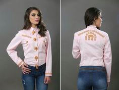 Nos.3004 charra aplicación piel dama #camisacharra #espueladeoro