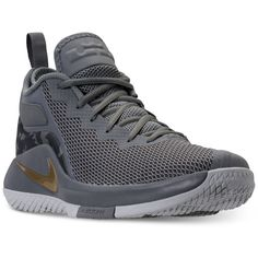 big sale eb3d7 5b536 Nike Men s LeBron Witness II Basketball Sneakers from Finish Line Men -  Finish Line Athletic Shoes - Macy s