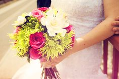 Such a beautiful summer floral bouquet! Photo by Kim. #MinnesotaWeddings