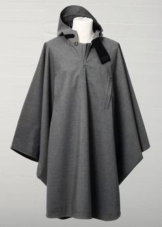 RAINCHO MIXED GREY - ARCHIVE - NORWEGIAN RAIN - Official Webshop