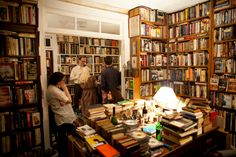 A literary speakeasy of sorts, those in the know have been whispering about Michael Seidenberg's secret for ages. After the rent at his Brooklyn retail space (that once employed Jonathan Lethem) shot through the roof, Seidenberg moved his secondhand bookshop to his first floor Upper East Side apartment, where it exists under the radar ...