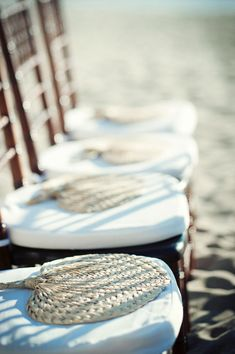 buri fans - must-have wedding favor for beach weddings