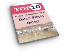 Free eBook for Dance Studios - The Top ten places to promote your dance studio online