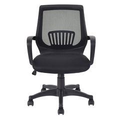 Ergonomic Mid-back Mesh Computer Office Chair Modern Desk Task Swivel Black