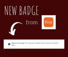 """What is the new """"Buyers Are Raving"""" Badge which seen at the top of some Etsy shops? How can I get that badge?   Lately, Etsy has been announcing so many new features and badges. """"Buyers Are Raving! This shop got multiple 5-star reviews..."""