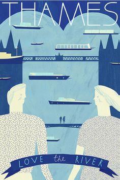 Thames: Love the River - Evgenia Barinova