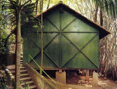 Lina Bo Bardi's office and studio, São Paulo, 1986