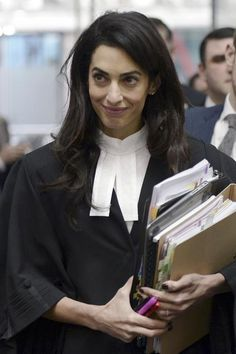 Right on!!             Amal Clooney Doesn't Care About Your Fashion Questions - Shine from Yahoo Canada
