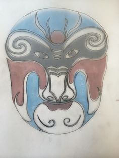 Peking Opera Mask Alphabet