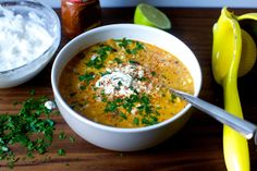 corn chowder with chile, lime, and cotija | smittenkitchen.com