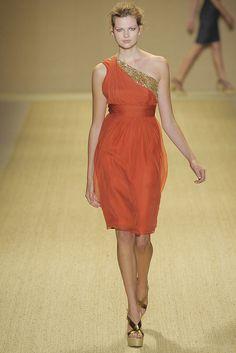 Monique Lhuillier Spring 2009 Ready-to-Wear Fashion Show - Bette Franke