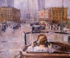 Юрий Пименов. Новая Москва 1937