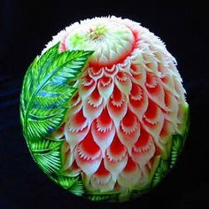 watermelon carving...M