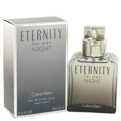 Eternity Night by Calvin Klein 3.4 oz Eau De Toilette Spray 100 ml for Men NIB #CalvinKlein