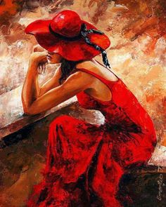 Art ...on red
