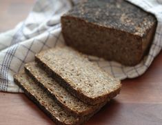 Rye Bread, Mojito, Bread Recipes, Banana Bread, God Mad, Baking, Grains, Seeds, Prom Dresses