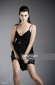 Actress Cote de Pablo poses for a portrait session in West Hollywood ...