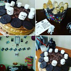 SW star wars stormtroopers happy birthday cake dart звездные войны штурмовик торт день рождения