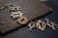 Door Escutcheon Bracelet New by EAdornments on Etsy