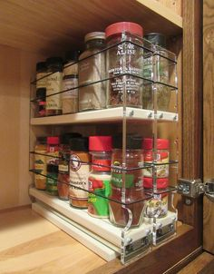 Spice Rack Nj Entrancing 15 Creative Spice Storage Ideas  Pinterest  Clever Organizing And