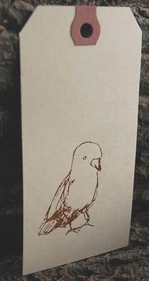 Bookhou Letterpress: Letterpress Tags