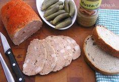 Za túto dobrotku vďačím receptu ktorý tu prednedávnom uverejnil Pacun110. Kedysi som to robievala aj ja a tak som vytiahla môj starý receptový zošit a pohľadala recept. Výsledok je spojenie môjho a Pacunovho receptu. Slovak Recipes, Summer Sausage, Lchf Diet, How To Make Cheese, Sausage Recipes, Food 52, The Cure, Sandwiches, Appetizers