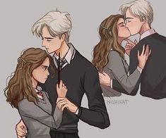Harry Potter Feels, Harry Potter Draco Malfoy, Harry Potter Ships, Harry Potter Jokes, Harry Potter Fan Art, Harry Potter Fandom, Harry Potter Characters, Dramione, Hermione Fan Art
