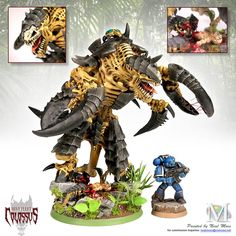 ** Hive Fleet Colossus** - jungle world themed tyranid army (PICS!) - Forum - DakkaDakka | Just a few skulls short of a throne.