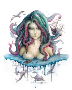 beloved Kraken by YaDragonfly