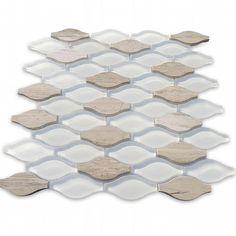 Stone Mosaic Tile, Mosaic Wall Tiles, Marble Mosaic, Marble Floor, Mosaic Glass, Splashback Tiles, Tile Stores, Brick Patterns, Stone Flooring