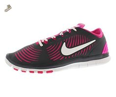 Nike Womens Free Balanza Fitness Running Shoes White Pinkflow Black 10 B M US - Nike sneakers for women (*Amazon Partner-Link)