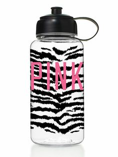 Victoria's Secret PINK WATER BOTTLE Whether you're working out or out and about, this bright, bold water bottle holds your beverages in style. Only from Victoria's Secret PINK.
