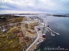 Aerial View Of The Fisheries On The Coast Of Norway - Download From Over 57 Million High Quality Stock Photos, Images, Vectors. Sign up for FREE today. Image: 89890404