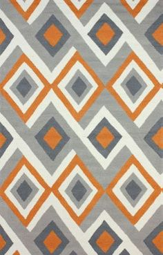 $5 Off when you share! Rugs USA Radiante BC62 Orange Rug